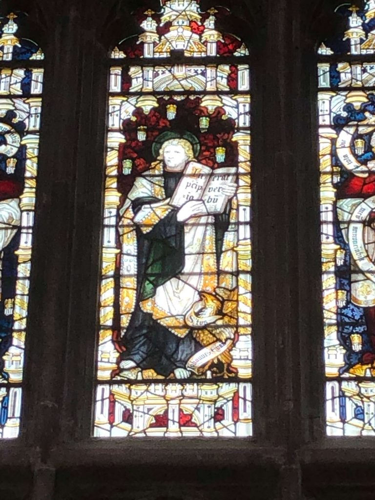 Jane Austen Glass Window Winchester Cathedral