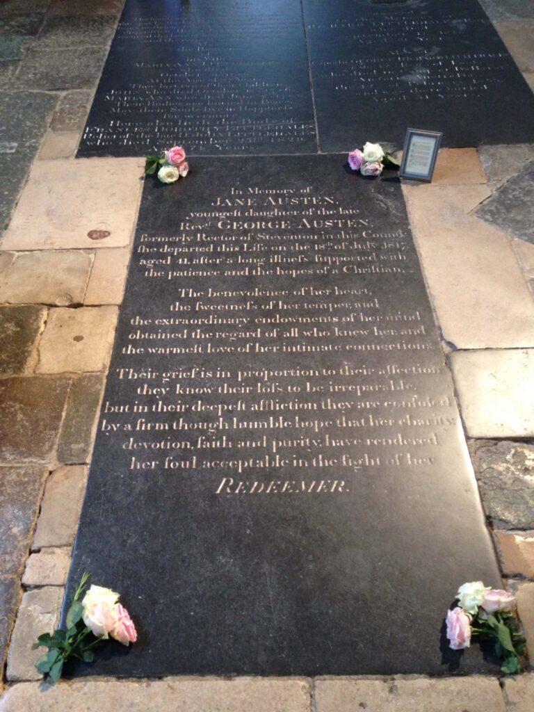 Jane Austen Grave Winchester