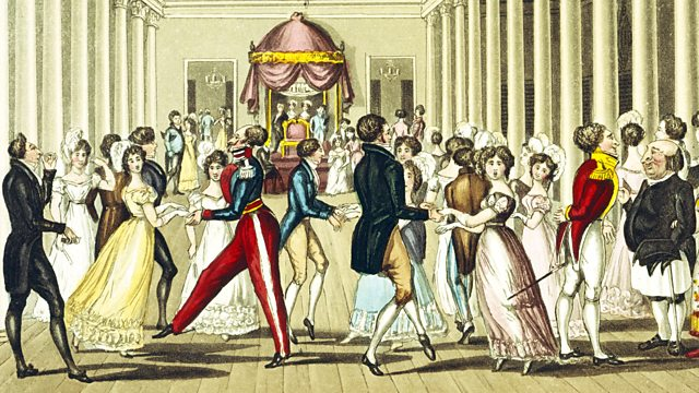 Regency Dancing Painting